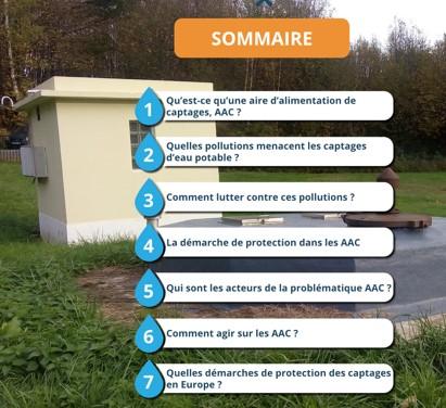 Livre enrichi sur la protection des captages et la lutte contre les pollutions diffuses