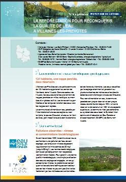 La reforestation pour reconquérir la qualité de l'eau à Villaines-les-Prévôtes