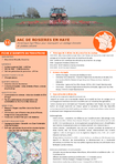 AAC DE ROSIERES EN HAYE: Dynamique Agri-Mieux pour reconquérir un captage Grenelle en plateau calcaire