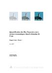QUANTIFICATION DES FLUX FINANCIERS ENTRE ACTEURS ECONOMIQUES DANS LE DOMAINE DE L'EAU- NOTE DE SYNTHESE SUR LA RECUPERATION DES COUTS POUR LE BASSIN RHONE MEDITERRANEE- NOTE DE SYNTHESE SUR LA RECUPERATION DES COUTS POUR LE BASSIN CORSE