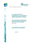 La coopération entre producteurs d'eau potable et acteurs agricoles en France. Les arrangements coopératifs pour la gestion de la qualité de l'eau dans les aires d'alimentation de captage. Rapport final- partie 1