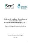 Analyser la conduite des actions de protection des Aires d'Alimentation de Captage (AAC): repères bibliographiques et études de cas