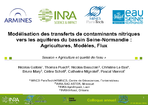 Modélisation des transferts de contaminants nitriques vers les aquifères du bassin Seine-Normandie: Agricultures, Modèles, Flux