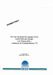 """Avis sur un projet de captage d'eau souterraine par forage """" Le Poney-club"""" commune de Fontainebleau (77)."""