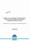 Origine des concentrations en baryum dissous dans les eaux du captage de Crôt-Chaud, Saint-Bonnet-Tronçais, (Allier).
