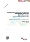 Etude préalable à la définition des périmètres de protection du captage AEP de la crique Léo (commune de Saint-Elie).
