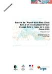 Bassins de l'Aronde et du Matz (Oise). Suivi d'un réseau piézométrique d'usage dans la nappe de la craie. Année 2005. Rapport final.