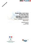 Elaboration de la base de données des captages de la région Champagne-Ardenne. Phase 1: Définition de la structure. Rapport final.