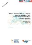 Origine des anomalies en sélénium dans les captages AEP du département de la Marne. Première approche. Rapport final.