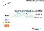 Pollution accidentelle des captages d'eau potable de Haute-Normandie. Actualisation et numérisation des plans d'intervention. Année 2.