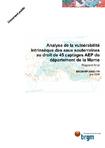 Analyse de la vulnérabilité intrinsèque des eaux souterraines au droit de 45 captages AEP du département de la Marne. Rapport final