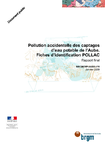 Pollution accidentelle des captages d'eau potable de l'Aube. Fiches d'identification POLLAC. Rapport final.