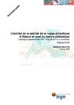 Contrôle de la salinité de la nappe phréatique d'Alsace en aval du bassin potassique. Campagne géophysique 2007. Aval de terrils et anomalies. Rapport final