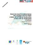 Etude des bassins d'alimentation des captages AEP du SIAEP d'Ablis, de la Forêt de Rambouillet et de la ville de Rambouillet (Yvelines). Rapport intermédiaire.