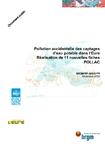 Pollution accidentelle des captages d'eau potable de l'Eure. Réalisation de 11 nouvelles fiches POLLAC.