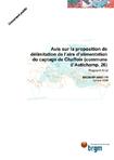 Avis sur la proposition de délimitation de l'aire d'alimentation du captage de Chaffoix (commune d'Autichamp, 26). Rapport final.