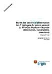 Etude des bassins d'alimentation des 3 captages du bassin versant du Mro Oua Gouloué- Mayotte (délimitation, vulnérabilité, pressions). Rapport final.
