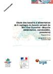 Etude des bassins d'alimentation de 6 captages du bassin versant du Mro Oua Ourovéni- Mayotte (délimitation, vulnérabilité, pressions). Rapport final.