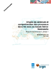 Origine du sélénium et compréhension des processus dans les eaux du bassin Seine-Normandie. Rapport d'avancement- phase 1.