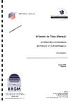 LE BASSIN DE THAU. SYNTHESE DES CONNAISSANCES GEOLOGIQUES ET HYDROGEOLOGIQUES