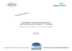 Synthèse hydrogéologique du bassin de Gouzon- Creuse. Propositions d'actions pour la gestion de l'aquifère.