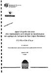 Appui à la police des eaux souterraines- Avis réglementaire sur le dossier de régularisation des captages de l'aéroport de Nice (Alpes-Maritimes)- CCI Nice-Côte-d'Azur.