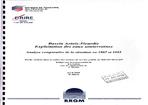 Bassin Artois-Picardie. Exploitation des Eaux souterraines. Analyse comparative de la situation entre 1987 et 1995.
