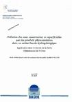 Pollution des eaux souterraines et superficielles par des produits phytosanitaires dans un même bassin hydrogéologique- Application dans le bassin de la Serre- Département de l'Aisne.