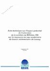Avis technique sur l'impact potentiel de l'extension de la sablière de Millières (50) sur la ressource en eau souterraine du bassin sédimentaire de Lessay.