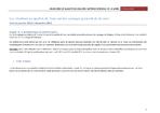 BILAN 2013 DE QUALITE DE L'EAU DES CAPTAGES GRENELLE DE LA LOIRE