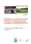 Evaluation du contrat territorial du bassin d'alimentation des captages de SAFFRE 2010-2014