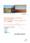 Bilan évaluatif du contrat territorial Re-Sources 2010-2014; Bassin d'alimentation des captages de la vallée de la Courance