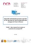 Diagnostic territorial des pressions agricoles et non agricoles de l'aire d'alimentation des captages de Choué et Brossac