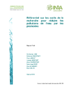 Référentiel sur les outils de la recherche pour réduire les pollutions de l'eau par les pesticides
