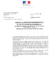PLAN-PROGRAMME- Avis de l'autorité environnementale relatif au rapport environnemental du projet de schéma d'aménagement et de Gestion des Eaux (SAGE) de l'Ouche présenté par la CLE du bassin versant de l'Ouche